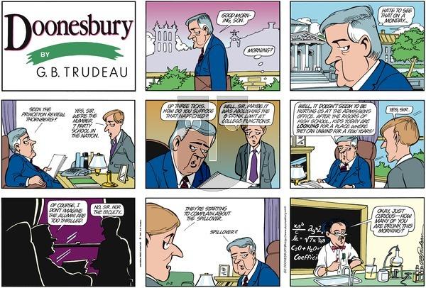 Doonesbury on Monday January 17, 2000 Comic Strip
