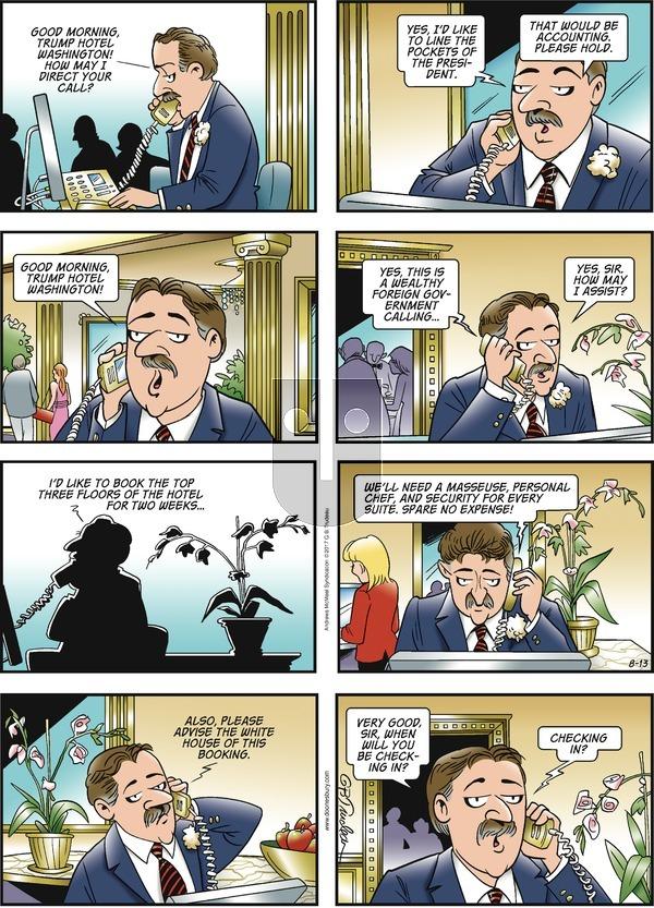 Doonesbury on Sunday August 13, 2017 Comic Strip