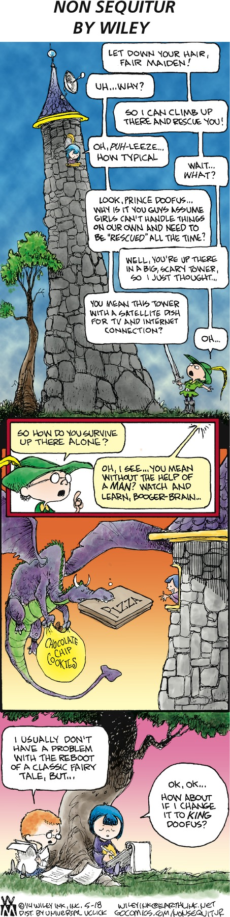 Non Sequitur Comic Strip for May 18, 2014