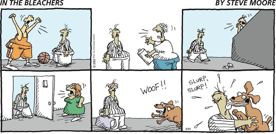 Woof!! Slurp,slurp!