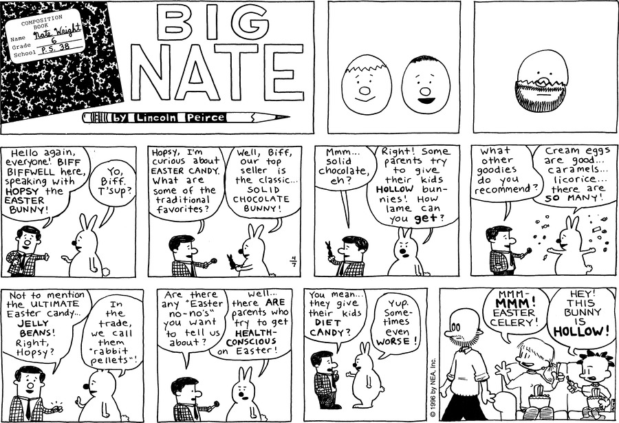 Big Nate: First Class Comic Strip for April 18, 2021