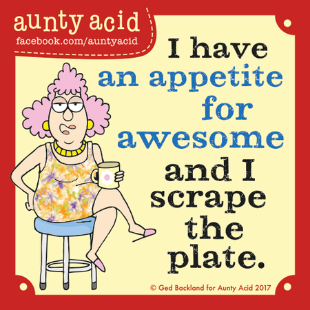 Aunty Acid for November 15, 2017 Comic Strip