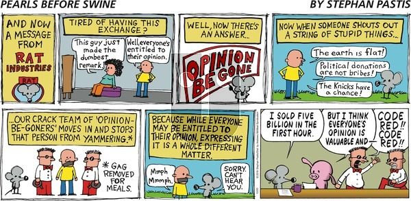 Pearls Before Swine - Sunday October 20, 2019 Comic Strip