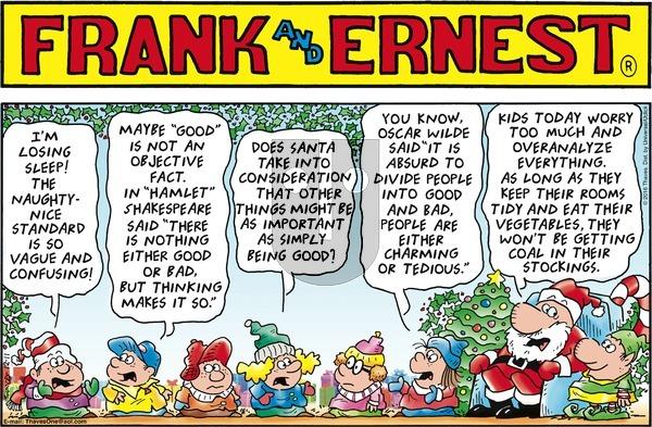 Frank and Ernest on Sunday December 11, 2016 Comic Strip