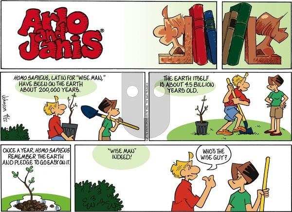 Arlo and Janis on Sunday April 22, 2012 Comic Strip