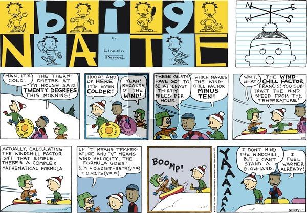 Big Nate on February 11, 2018 Comic Strip