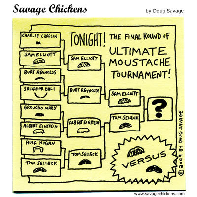 Savage Chickens Comic Strip for November 01, 2013