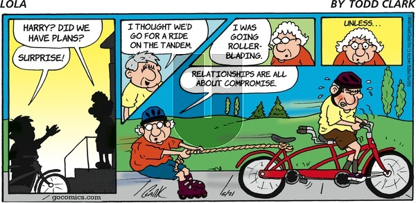 Lola on Sunday June 21, 2020 Comic Strip