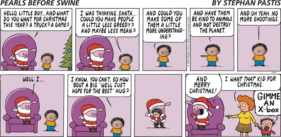 Pearls Before Swine Comic Strip for December 25, 2016