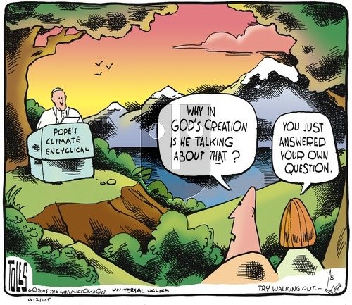 Tom Toles on Sunday June 21, 2015 Comic Strip