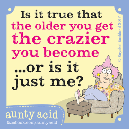 Aunty Acid for Jul 22, 2017 Comic Strip