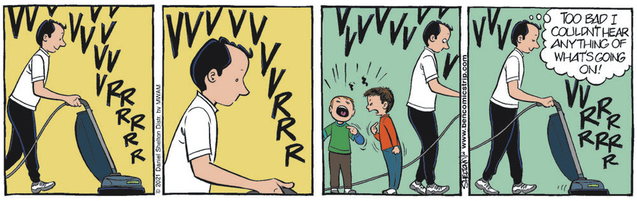 Ben Comic Strip for March 06, 2021