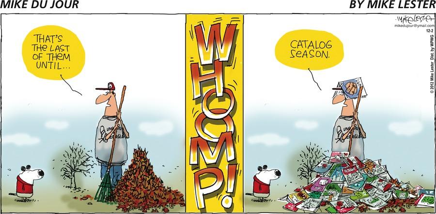 Mike du Jour for Dec 2, 2012 Comic Strip