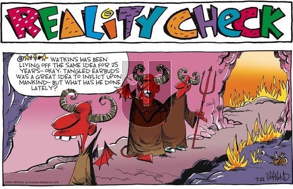 Reality Check on Sunday July 22, 2018 Comic Strip