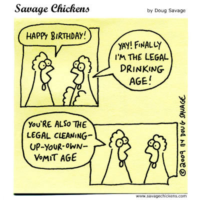 Chicken 1: HAPPY BIRTHDAY!