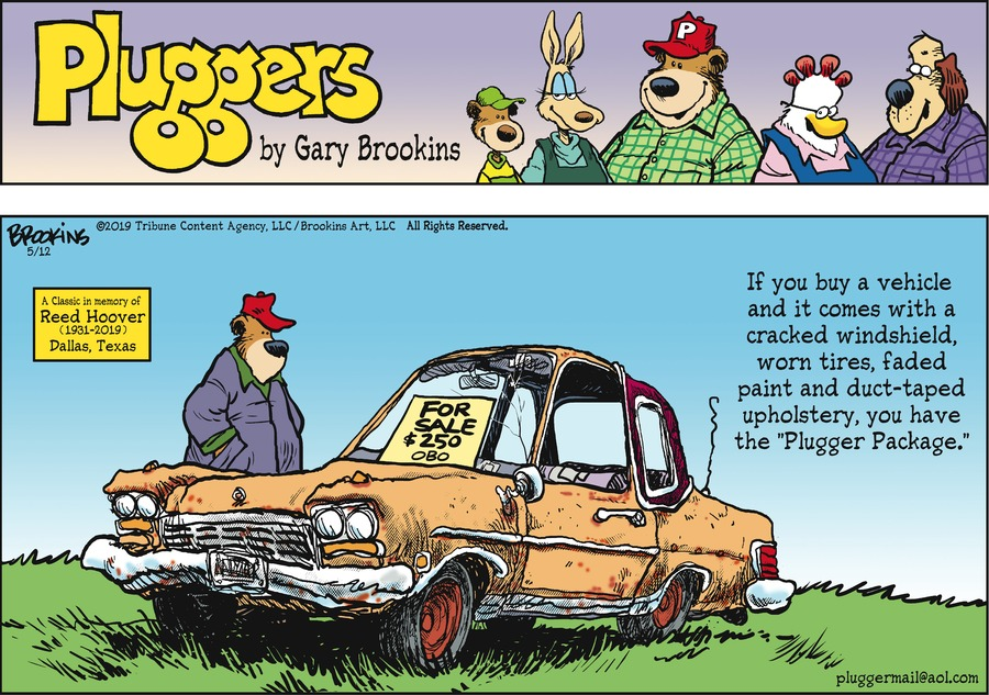 Pluggers by Gary Brookins for May 12, 2019