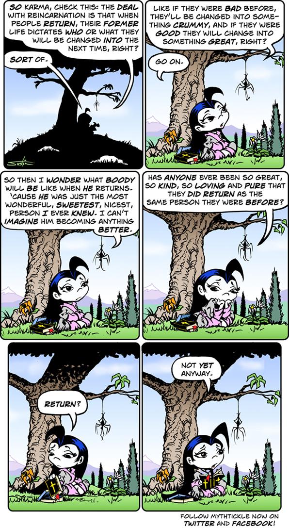MythTickle for Jul 2, 2014 Comic Strip