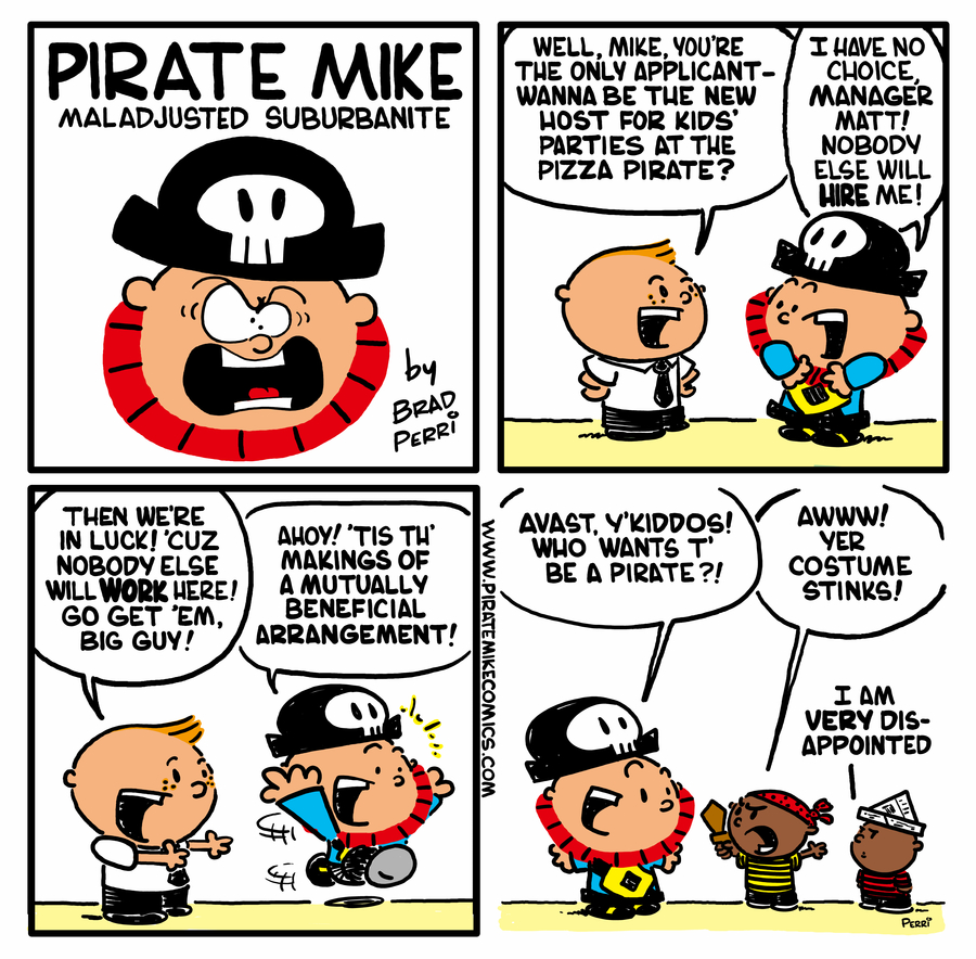 Pirate Mike by Brad Perri on Wed, 17 Jun 2020