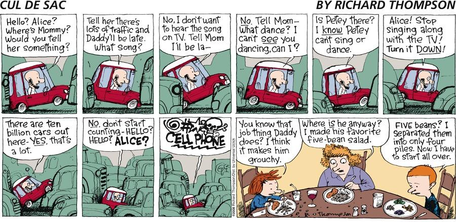 Cul de Sac for Mar 17, 2013 Comic Strip