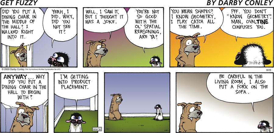Get Fuzzy Comic Strip for August 23, 2020