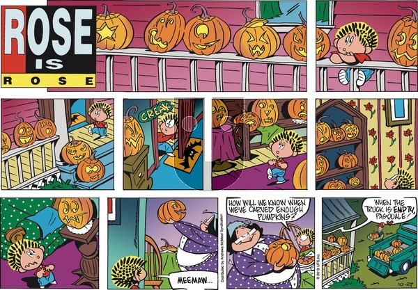 Rose is Rose - Sunday October 27, 2019 Comic Strip