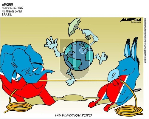 ViewsLatinAmerica on Sunday November 1, 2020 Comic Strip