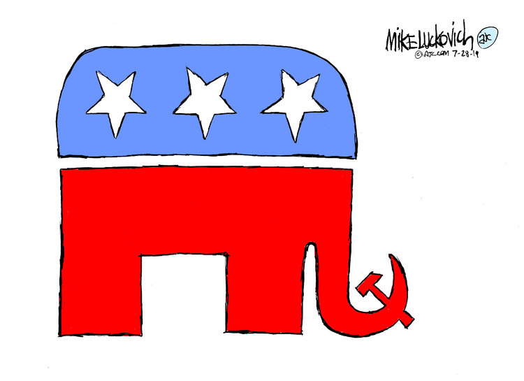 Mike Luckovich Comic Strip for July 28, 2019