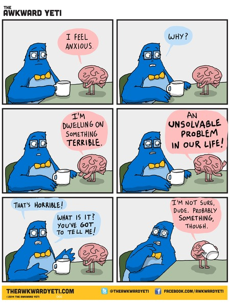The Awkward Yeti Comic Strip for December 07, 2014
