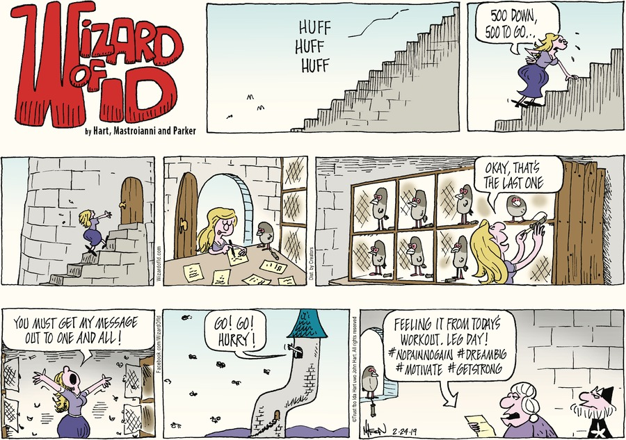 Wizard of Id Comic Strip for February 24, 2019
