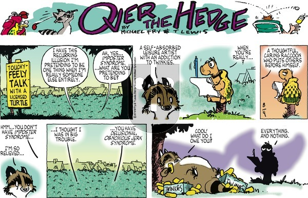 Over the Hedge on Sunday August 4, 2019 Comic Strip