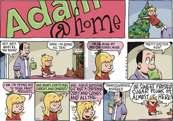 Adam@Home on Sunday December 22, 2019 Comic Strip