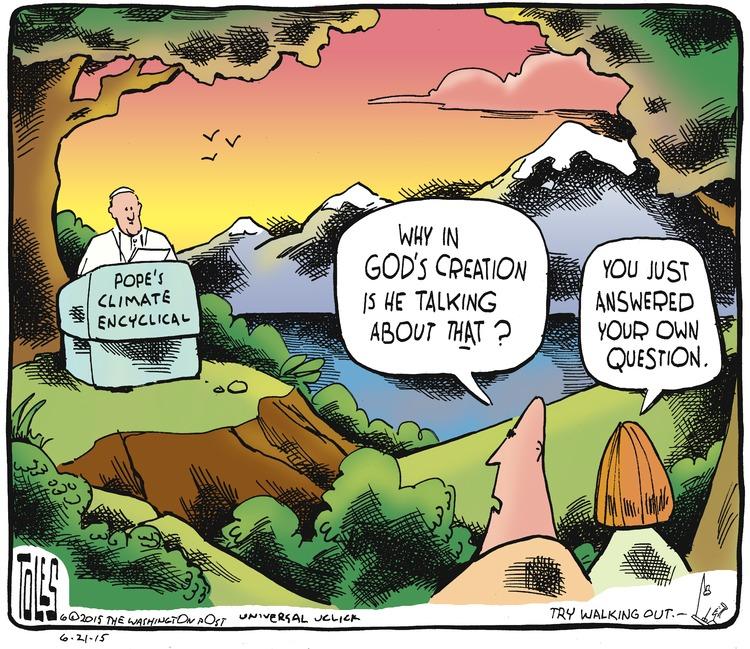 Tom Toles Comic Strip for June 21, 2015