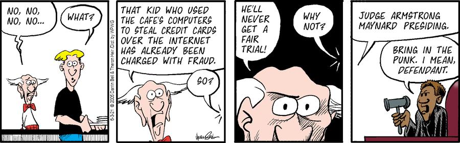 Rudy Park Comic Strip for June 03, 2021
