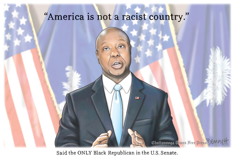 Clay Bennett by Clay Bennett on Sat, 01 May 2021