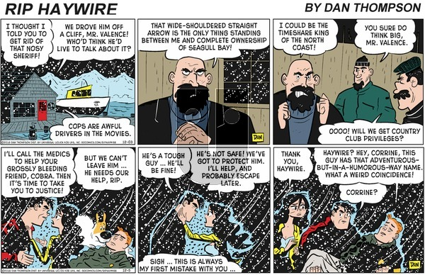 Rip Haywire on Sunday February 23, 2020 Comic Strip