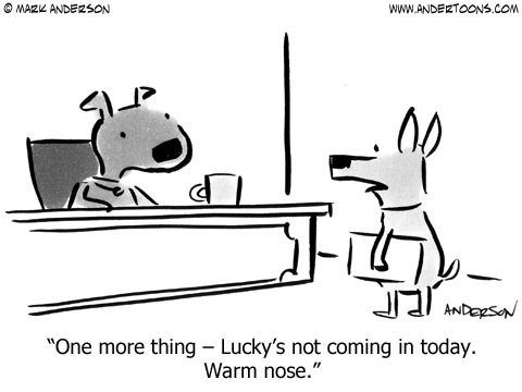 Andertoons Comic Strip for March 15, 2014