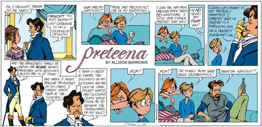 PreTeena Comic Strip for April 14, 2019