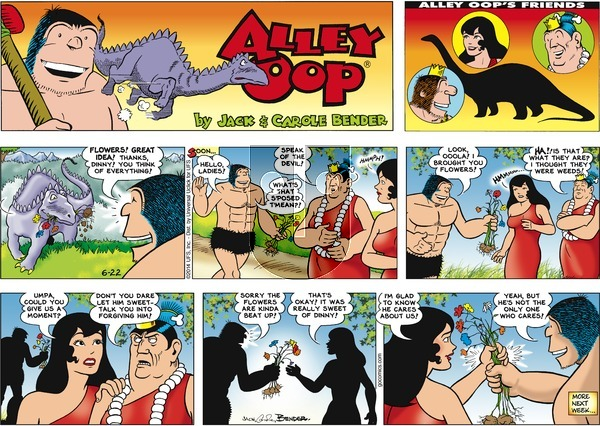 Alley Oop on Sunday June 22, 2014 Comic Strip