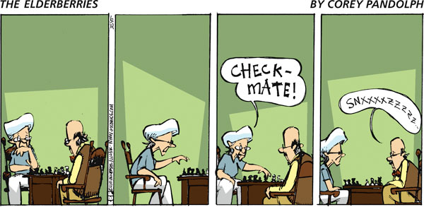 The Elderberries Comic Strip for March 24, 2019