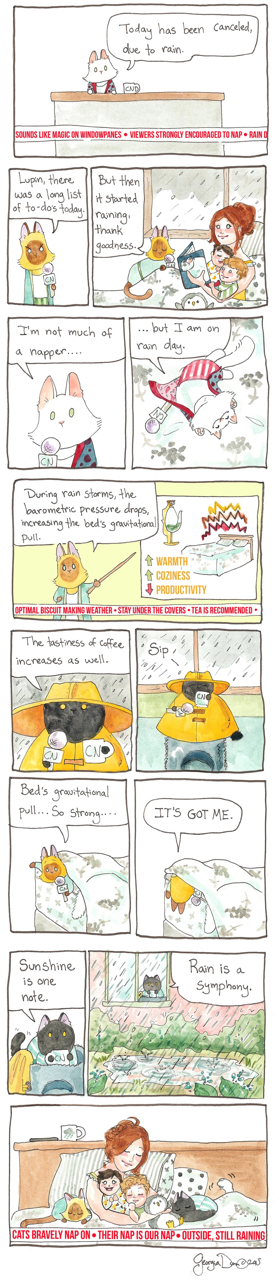 Breaking Cat News for Jan 1, 2017 Comic Strip