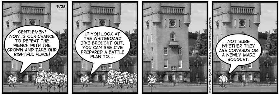 New Adventures of Queen Victoria Comic Strip for May 29, 2020