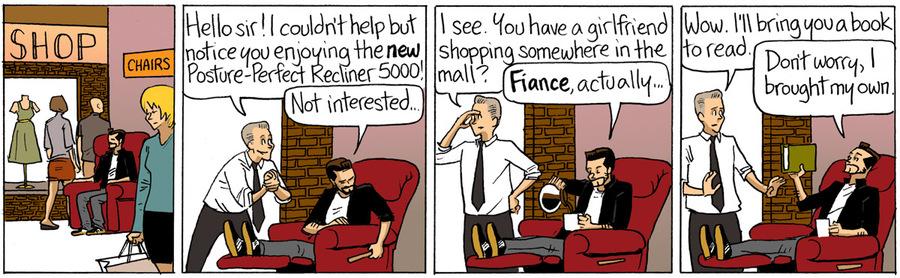 Beardo Comic Strip for October 12, 2015