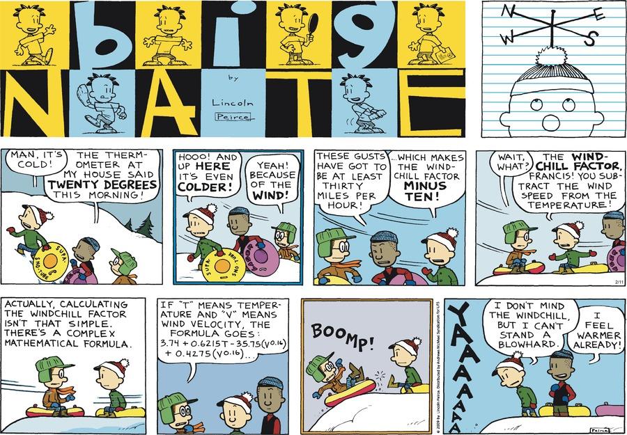 Big Nate Comic Strip for February 11, 2018