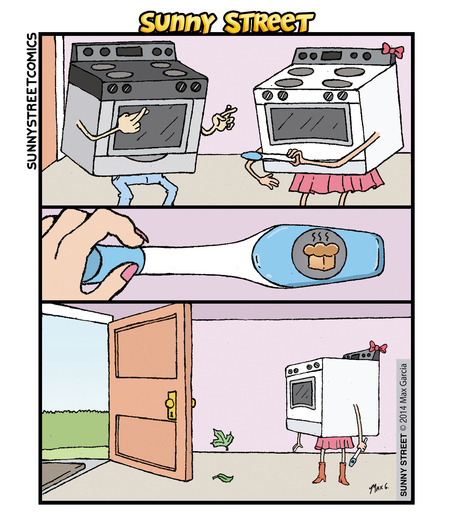 Sunny Street Comic Strip for March 10, 2016