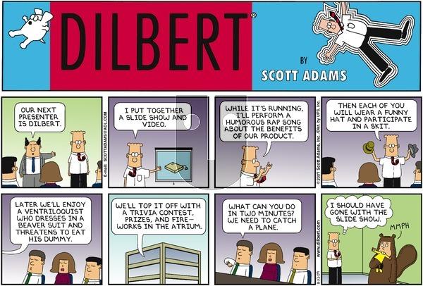 Dilbert on Sunday August 23, 2009 Comic Strip