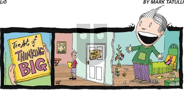 Lio on Sunday July 31, 2016 Comic Strip