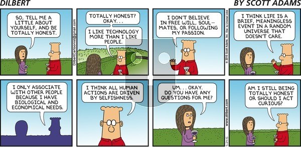 Dilbert on Sunday May 24, 2015 Comic Strip