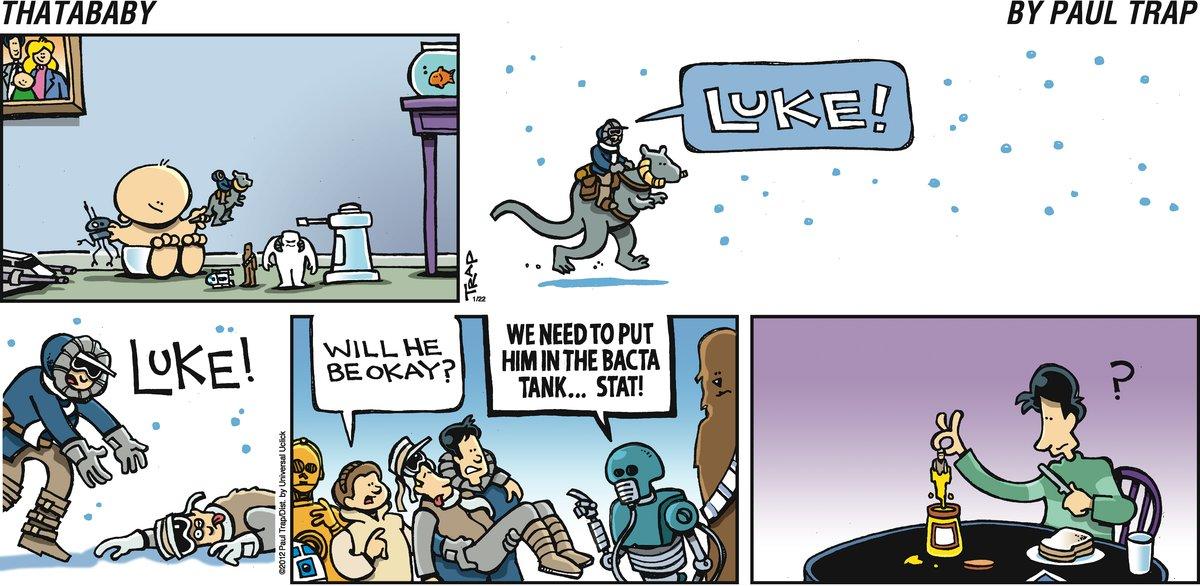 Luke! Luke! Will he be okay? We need to put him in the bacta tank...stat!