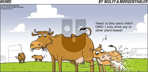 WuMo - Sunday December 2, 2018 Comic Strip