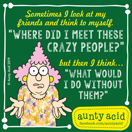 Aunty Acid by Ged Backland for May 03, 2019
